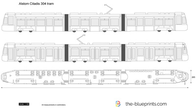 Alstom Citadis 304 tram