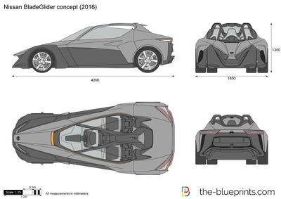 Nissan BladeGlider concept (2016)