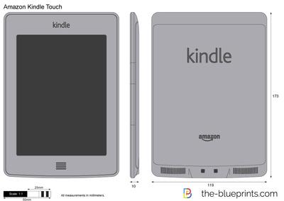 Amazon Kindle Touch