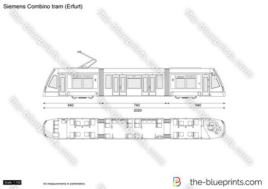 Siemens Combino tram (Erfurt)