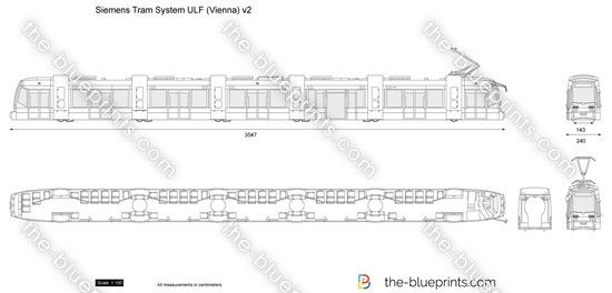 Siemens Tram System ULF (Vienna) v2