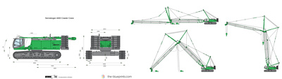 Sennebogen 4400 Crawler Crane