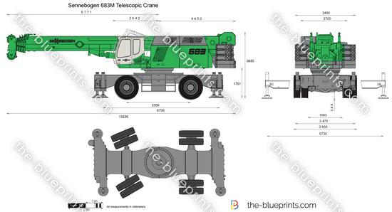 Sennebogen 683M Telescopic Crane