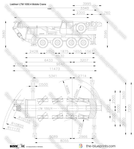 Liebherr LTM 1050.4 Mobile Crane