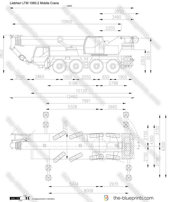 Liebherr LTM 1060.2 Mobile Crane
