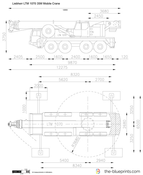 Liebherr LTM 1070 35M Mobile Crane