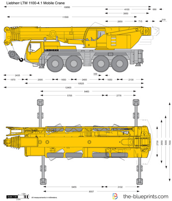 Liebherr LTM 1100-4.1 Mobile Crane