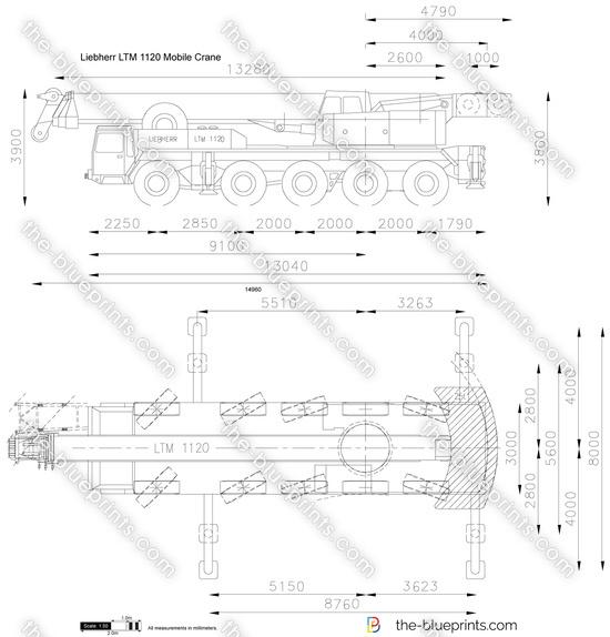 Liebherr LTM 1120 Mobile Crane