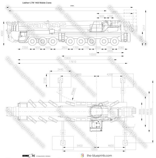 Liebherr LTM 1400 Mobile Crane