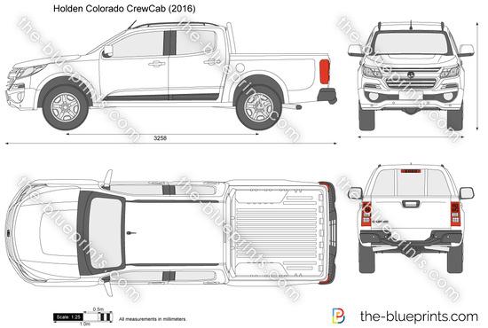 Holden Colorado CrewCab
