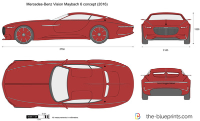 Mercedes-Benz Vision Maybach 6 concept