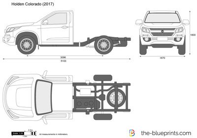 Holden Colorado Chassis Cab