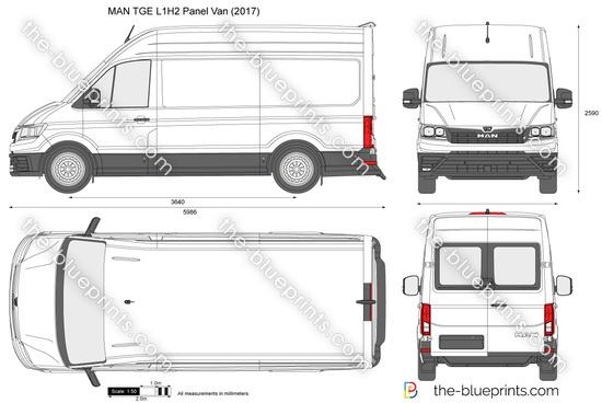 MAN TGE L1H2 Panel Van