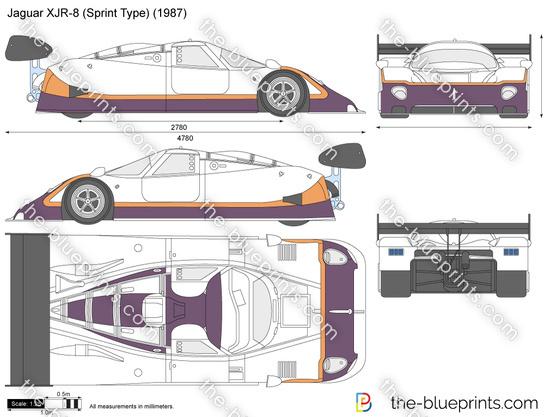 Jaguar XJR-8 (Sprint Type)