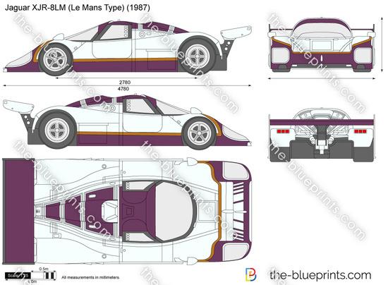 Jaguar XJR-8LM (Le Mans Type)