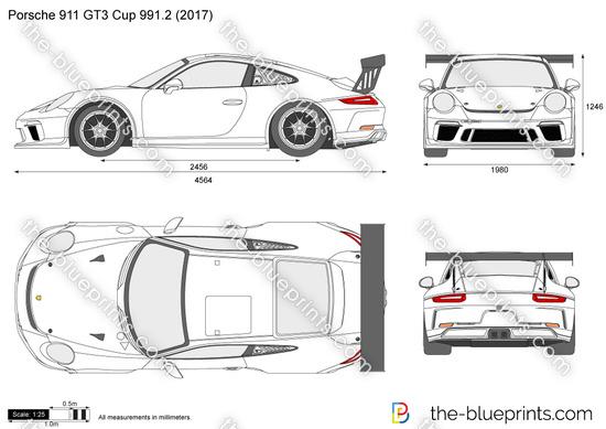 Porsche 911 GT3 Cup 991.2