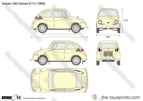 Subaru 360 Deluxe K111