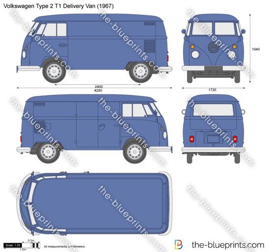 Volkswagen Type 2 T1 Delivery Van
