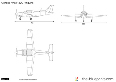 General Avia F-22C Pinguino