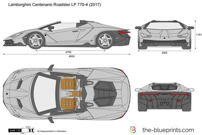 Lamborghini Centenario Roadster LP 770-4