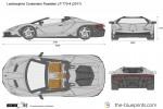 Lamborghini Centenario Roadster LP 770-4 (2017)