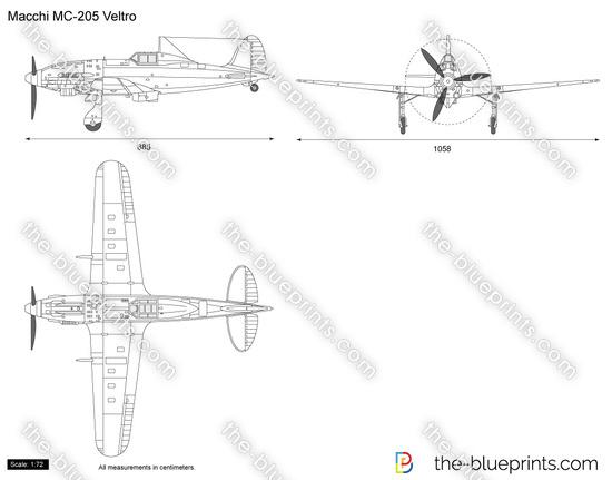 Macchi MC-205 Veltro