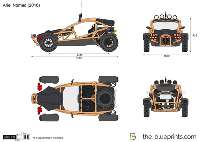 Ariel Nomad Price >> Ariel Nomad vector drawing