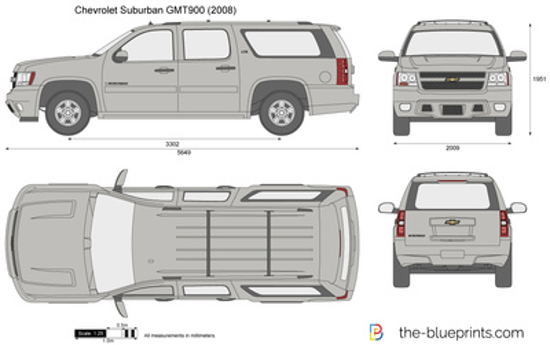 Chevrolet Suburban GMT900