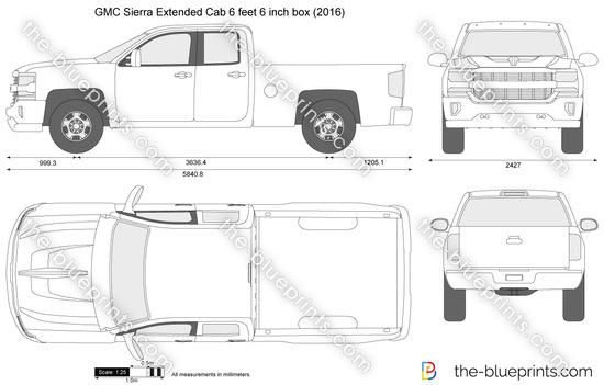 GMC Sierra Extended Cab 6 feet 6 inch box