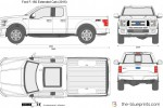 Ford F-150 Extended Cab (2015)