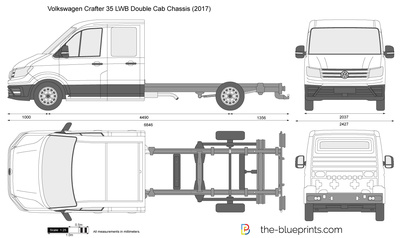 Volkswagen Crafter 35 LWB Double Cab Chassis
