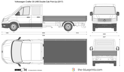 Volkswagen Crafter 35 LWB Double Cab Pick-Up