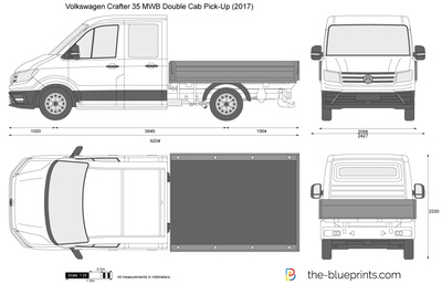 Volkswagen Crafter 35 MWB Double Cab Pick-Up