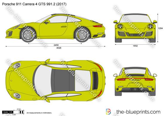 Porsche 911 Carrera 4 GTS 991.2