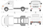 Volkswagen Transporter T4 SWB Single Cab Chassis