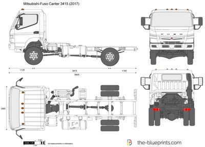 Mitsubishi-Fuso Canter 3415