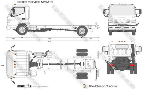 Mitsubishi-Fuso Canter 4300