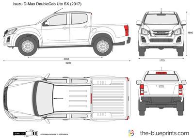 Isuzu D-Max Double Cab Ute SX (2017)