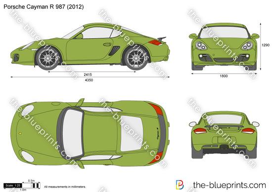 Porsche Cayman R 987