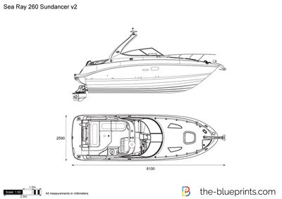 Sea Ray 260 Sundancer v2