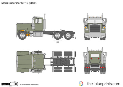 Mack Superliner MP10