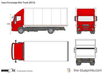 Iveco Eurocargo Box Truck (2013)