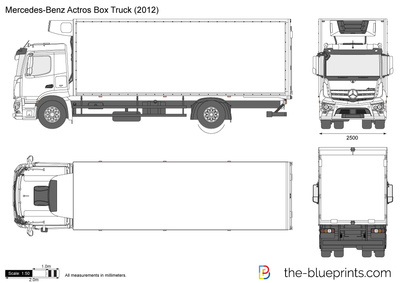 Mercedes-Benz Actros Box Truck