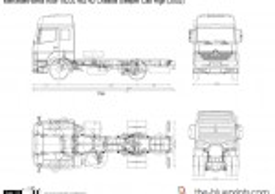 Mercedes-Benz Axor 1823L 4x2 42 Chassis Sleeper Cab High (2002)