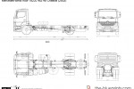 Mercedes-Benz Axor 1823L 4x2 48 Chassis (2002)