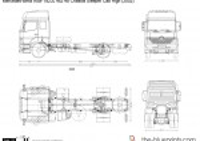 Mercedes-Benz Axor 1823L 4x2 48 Chassis Sleeper Cab High (2002)