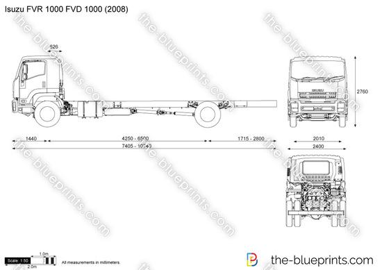 Isuzu FVR 1000 FVD 1000