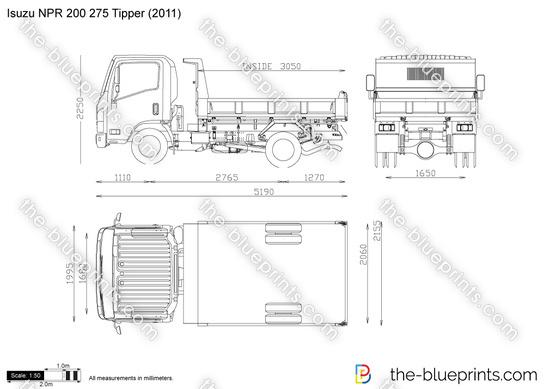 Isuzu NPR 200 275 Tipper