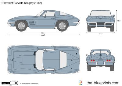 Chevrolet Corvette Stingray C2 (1967)