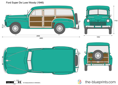 Ford Super De Luxe Woody